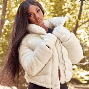 Puffer jacket- fashion nova